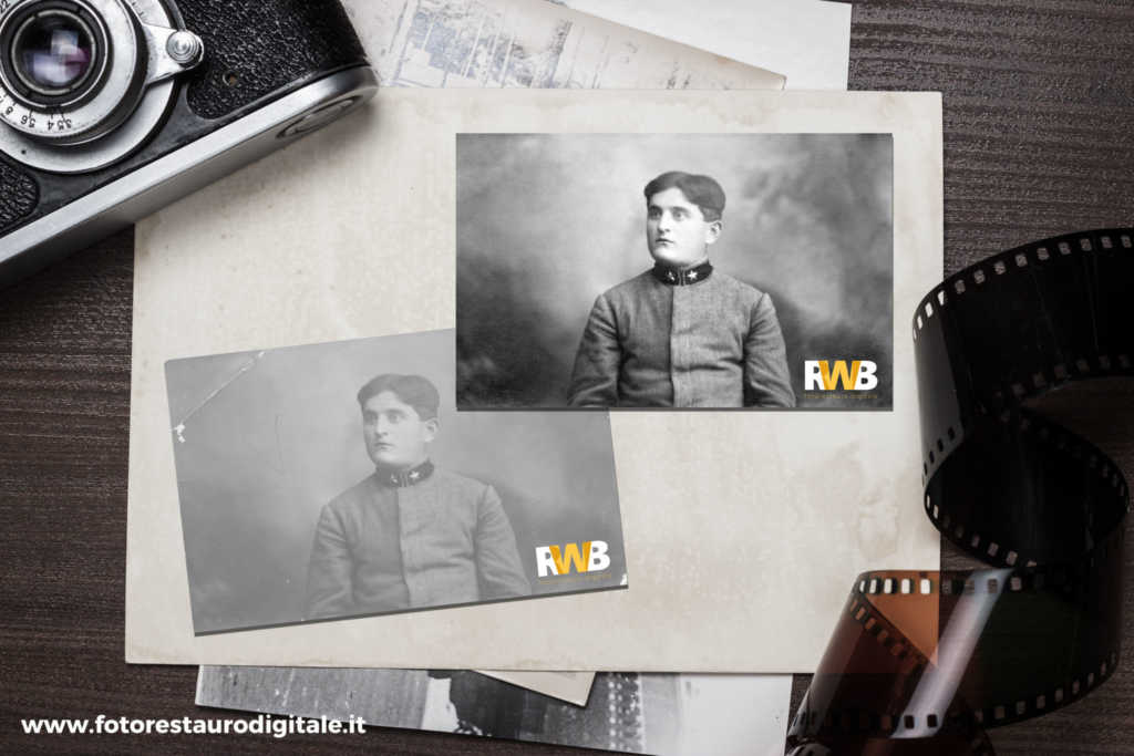 ©2016 RWB Fotorestauro Digitale, Esempio Di Fotorestauro